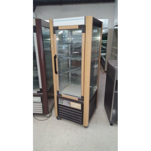 Scaiola round glass freezer Confectionary coolers